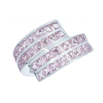 ScPink Morganite Ring