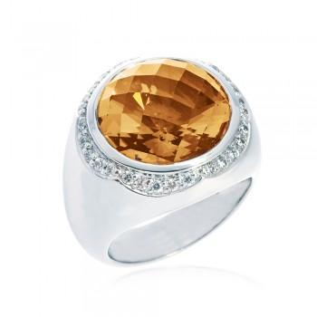 ScCitrine Ring