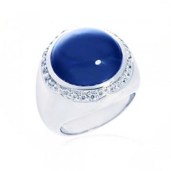 ScBlue Sapphire Ring