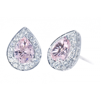 ScPink Morganite Earring