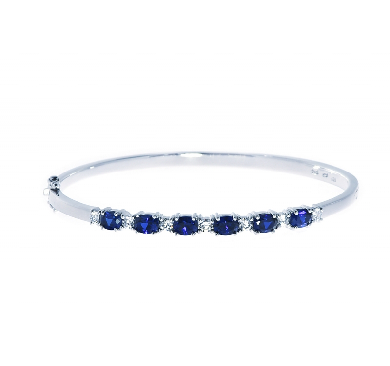manhattan bangles borough bracelet front by from passiana image cropped sapphire bangle blue l products